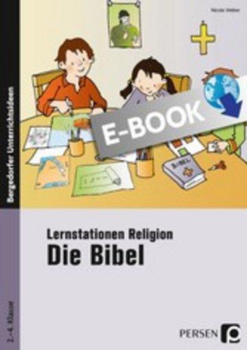 eBook Lernstationen Religion: Die Bibel Cover