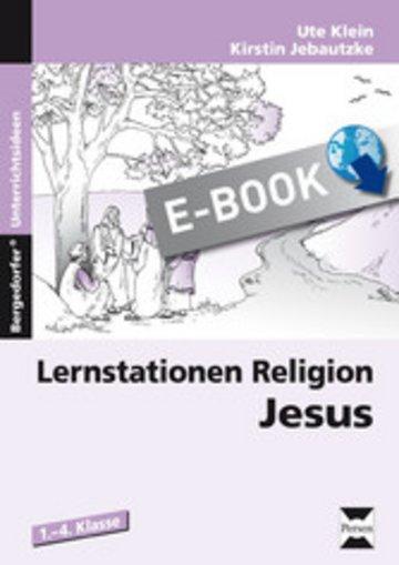 eBook Lernstationen Religion: Jesus Cover