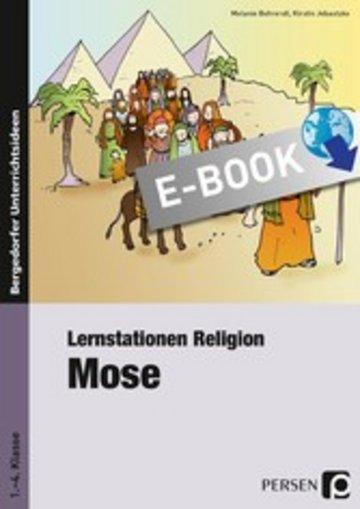 eBook Lernstationen Religion: Mose Cover