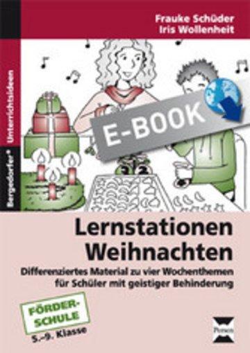 eBook Lernstationen: Weihnachten Cover