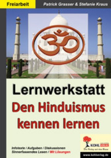 eBook Lernwerkstatt Den Hinduismus kennen lernen Cover