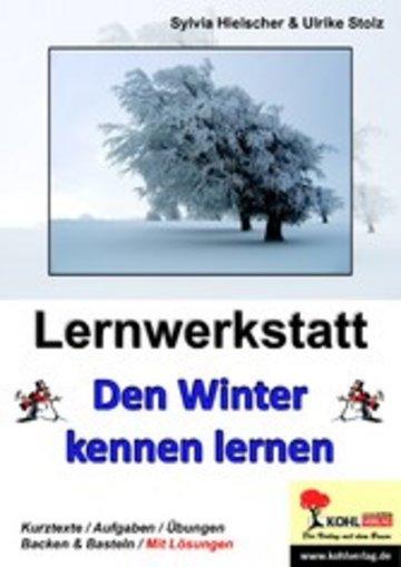eBook Lernwerkstatt Den Winter kennen lernen Cover