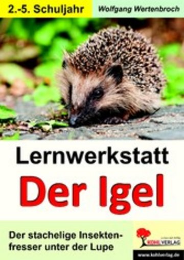 eBook Lernwerkstatt Der Igel Cover