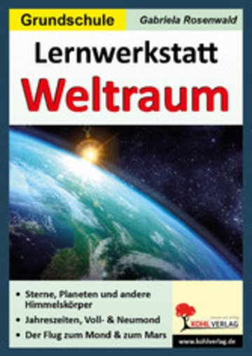 eBook Lernwerkstatt Der Weltraum Cover