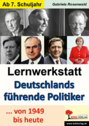 eBook Lernwerkstatt Deutschlands führende Politiker Cover