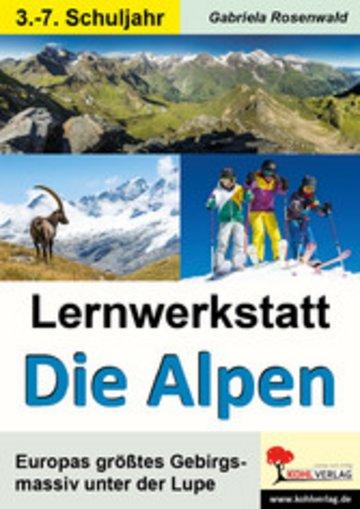 eBook Lernwerkstatt Die Alpen Cover