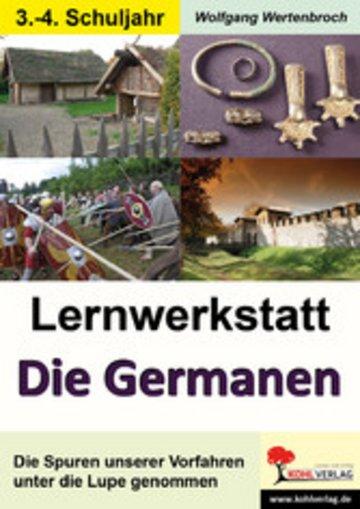 eBook Lernwerkstatt Die Germanen / Grundschule Cover