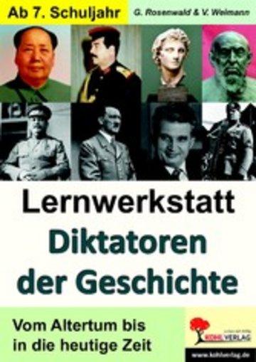 eBook Lernwerkstatt Diktatoren der Geschichte Cover