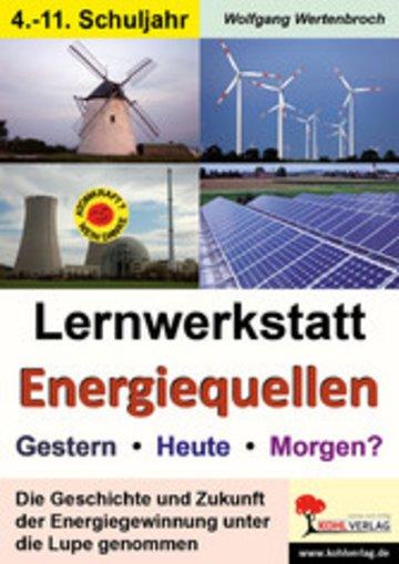 eBook Lernwerkstatt Energiequellen Cover