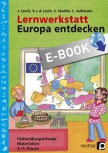 eBook Lernwerkstatt: Europa entdecken Cover