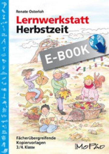 eBook Lernwerkstatt: Herbstzeit 3./4. Klasse Cover