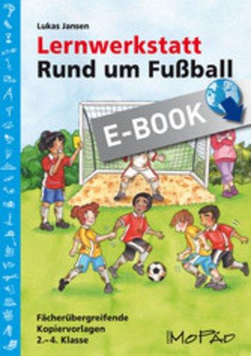 eBook Lernwerkstatt: Rund um Fußball Cover
