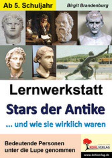 eBook Lernwerkstatt Stars der Antike Cover