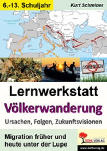 eBook Lernwerkstatt Völkerwanderung Cover