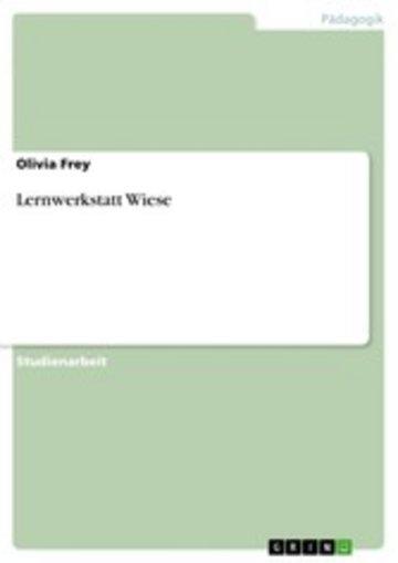 eBook Lernwerkstatt Wiese Cover