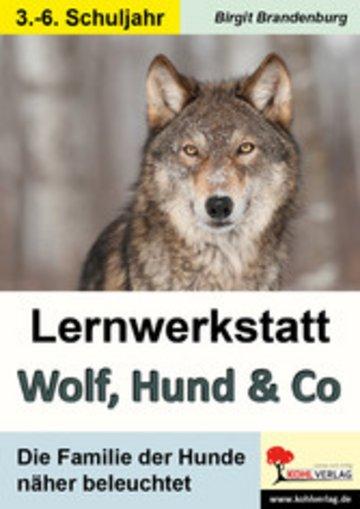 eBook Lernwerkstatt Wolf, Hund & Co Cover