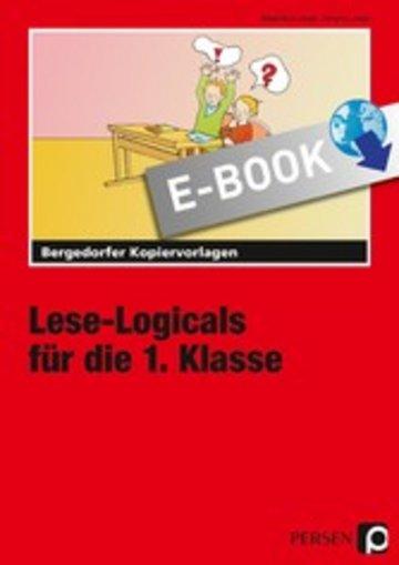 eBook Lese-Logicals für die 1. Klasse Cover