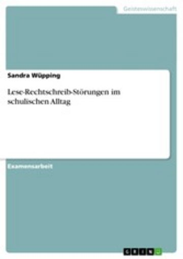 eBook Lese-Rechtschreib-Störungen im schulischen Alltag Cover