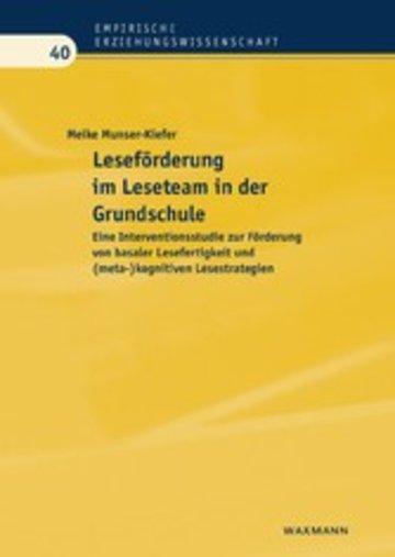 eBook Leseförderung im Leseteam in der Grundschule Cover