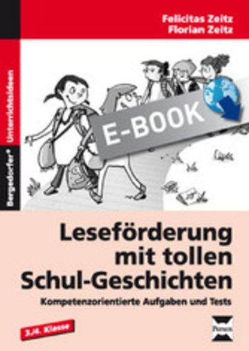 eBook Leseförderung mit tollen Schul-Geschichten Cover