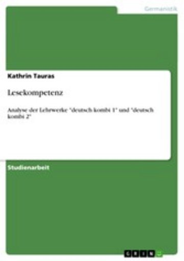 eBook Lesekompetenz Cover