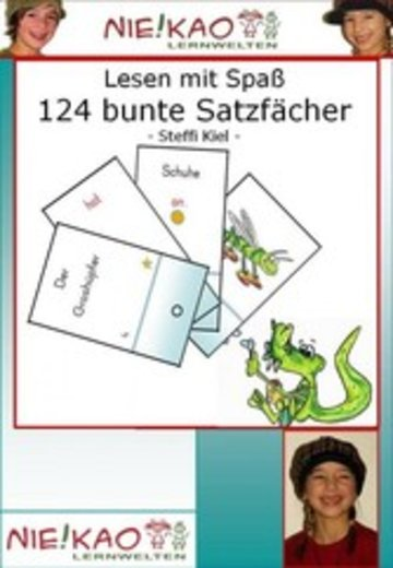 eBook Lesen mit Spaß - 124 bunte Satzfächer Cover