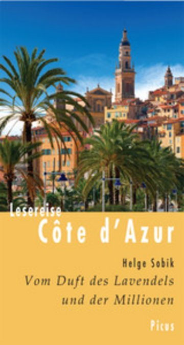 eBook Lesereise Côte d'Azur Cover