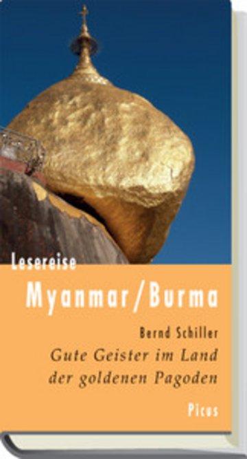 eBook Lesereise Myanmar / Burma Cover