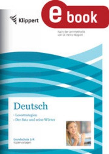 eBook Lesestrategien - Der Satz und seine Wörter Cover