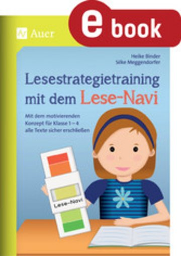 eBook Lesestrategietraining mit dem Lese-Navi Cover