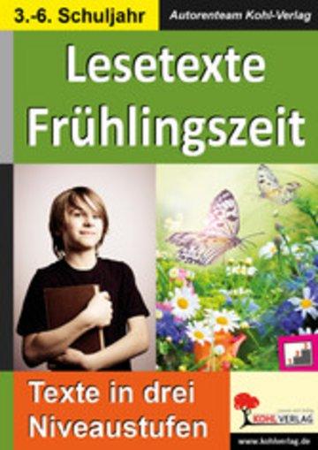 eBook Lesetexte FRÜHLINGSZEIT Cover