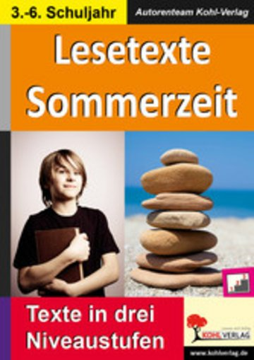 eBook Lesetexte SOMMERZEIT Cover