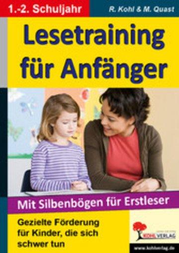 eBook Lesetraining für Anfänger Cover