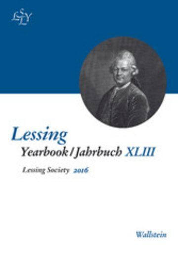 eBook Lessing Yearbook / Jahrbuch XLIII, 2016 Cover