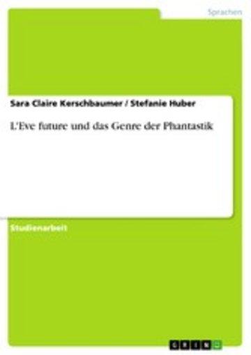 eBook L'Eve future und das Genre der Phantastik Cover