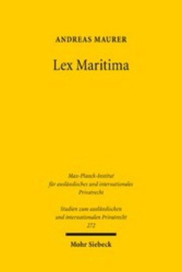 eBook Lex Maritima Cover
