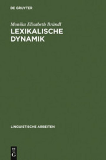 eBook Lexikalische Dynamik Cover