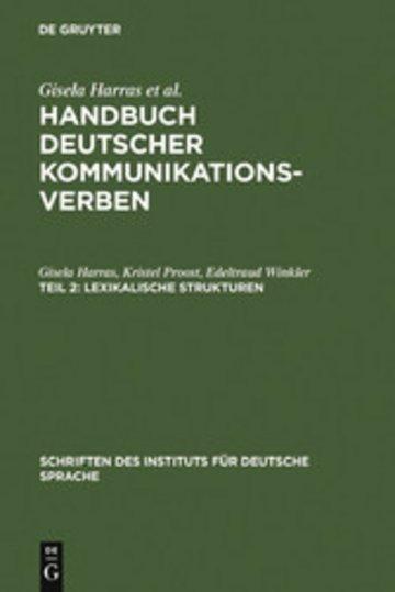 eBook Lexikalische Strukturen Cover