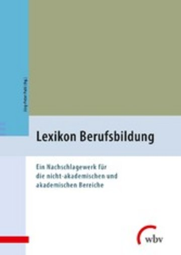eBook Lexikon Berufsbildung Cover