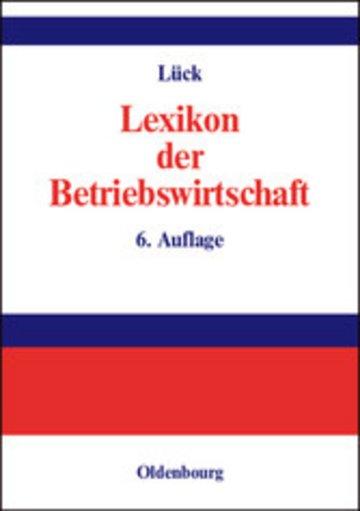 eBook Lexikon der Betriebswirtschaft Cover