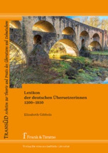 eBook Lexikon der deutschen Übersetzerinnen 1200-1850 Cover