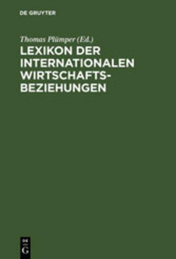 eBook Lexikon der Internationalen Wirtschaftsbeziehungen Cover
