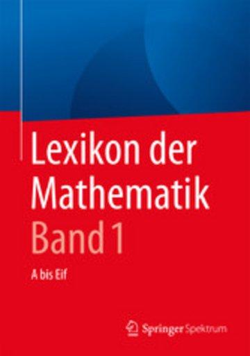 eBook Lexikon der Mathematik: Band 1 Cover