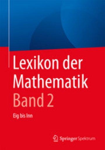 eBook Lexikon der Mathematik: Band 2 Cover