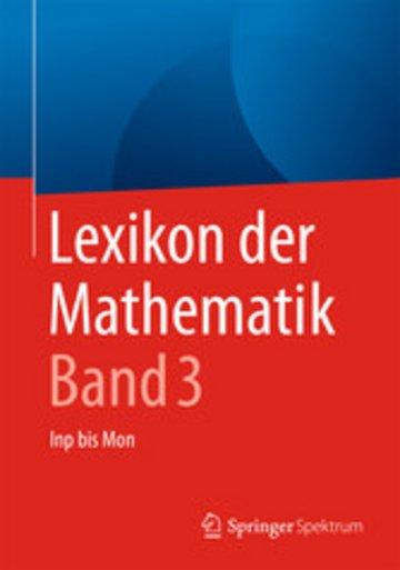 eBook Lexikon der Mathematik: Band 3 Cover