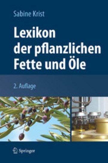 eBook Lexikon der pflanzlichen Fette und Öle Cover