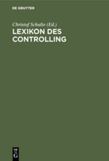 eBook Lexikon des Controlling Cover