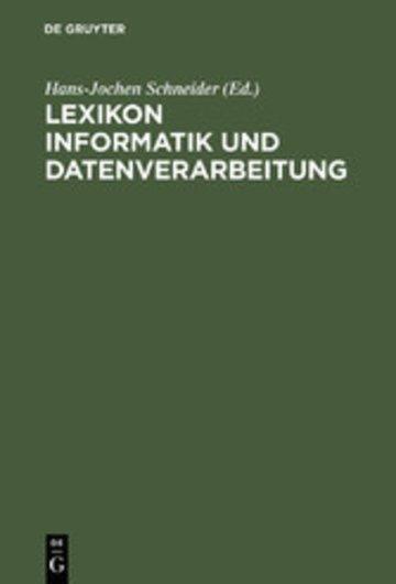 eBook Lexikon Informatik und Datenverarbeitung Cover