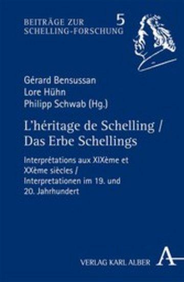 eBook L'héritage de Schelling / Das Erbe Schellings Cover