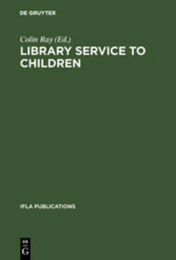 eBook Library service to children Cover